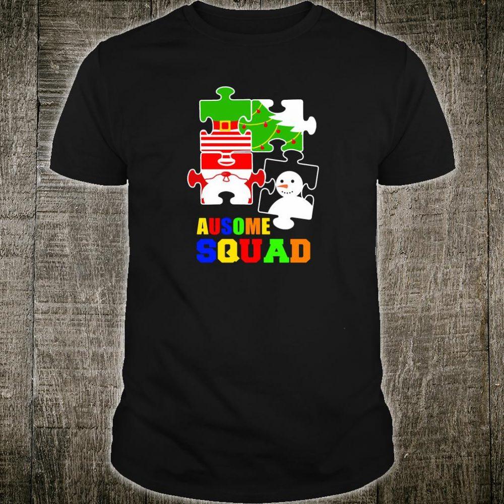 Ausome squad shirt