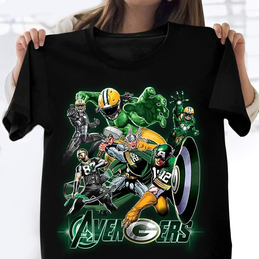 Green Bay Packers The Avengers Shirt