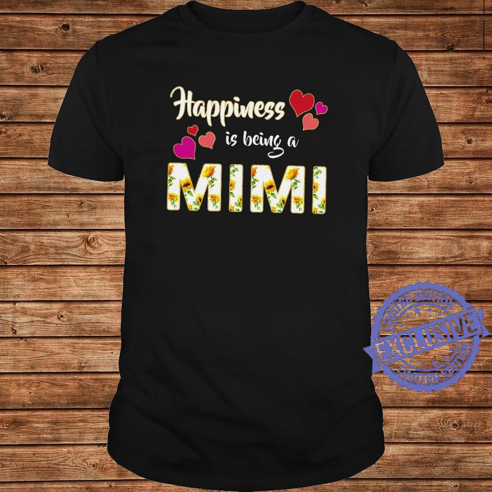 Happiness is being a mimi shirt long sleeved