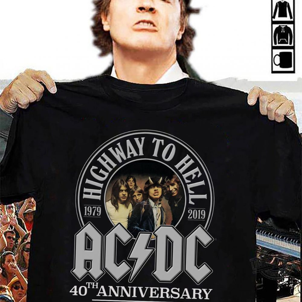 Highway to hell 2019 AC DC 40th anniversary Shirt