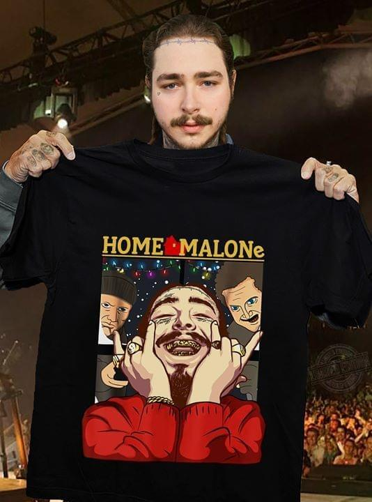 Home Malone Post Malone Home Alone Version Shirt
