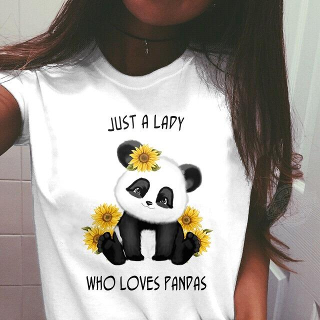 Just a lady who loves panpas Shirt