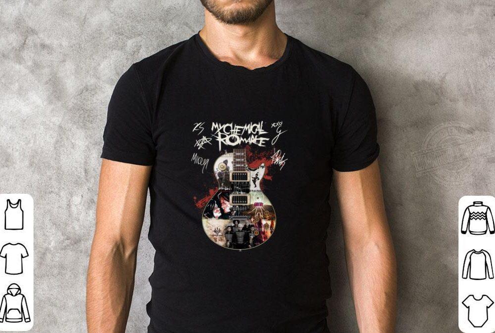 My Chemical Romance Guitar Shirt