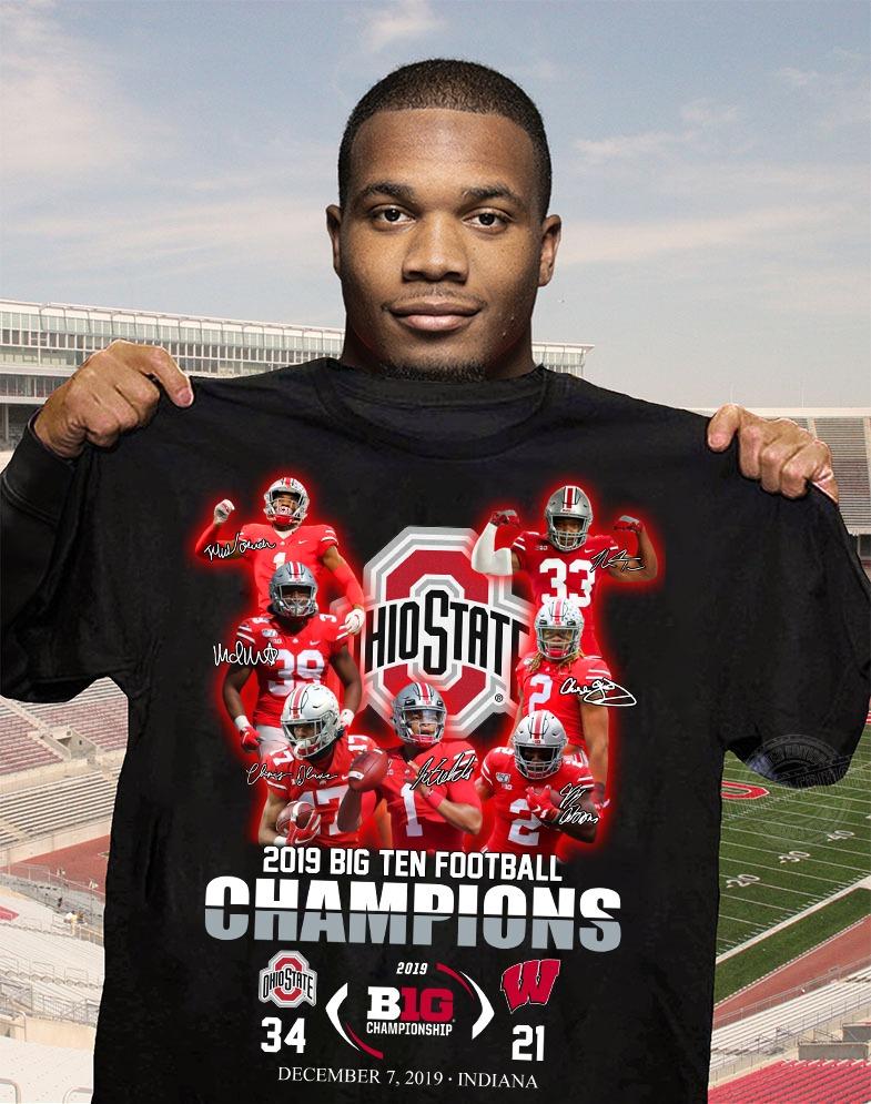 Ohio State 2019 big ten football champions 2019 Shirt