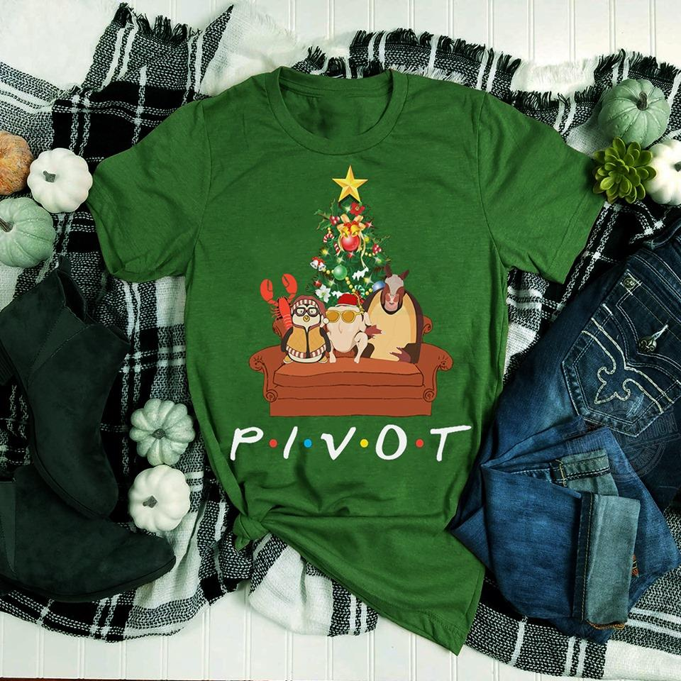 Pivot Merry Christmas with Friends TV Show Shirt