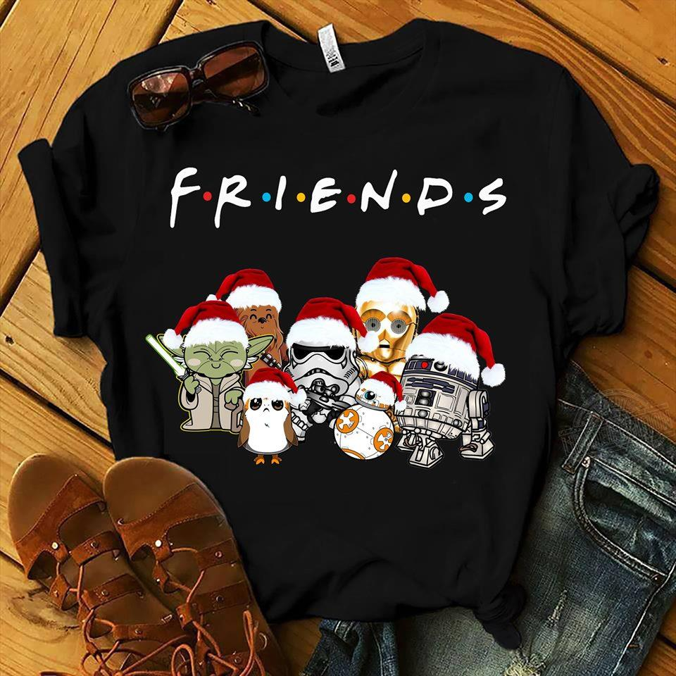 Star Wars Friends Christmas Shirt