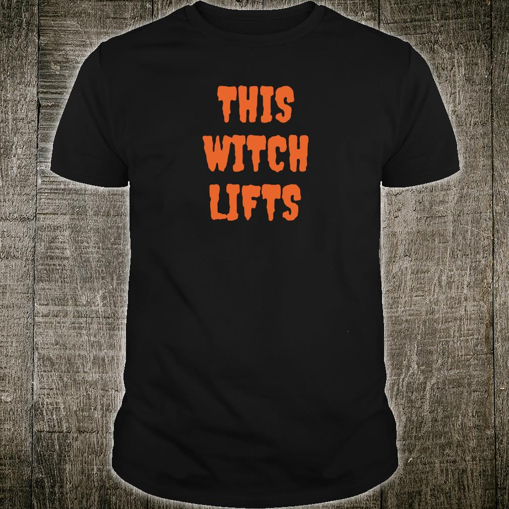 This witch lifts shirt